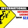 Skydiving Licence