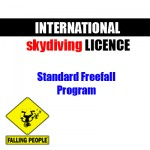 International skydiving licence